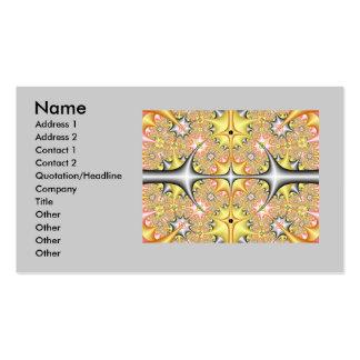 fractal1, nombre, dirección 1, dirección 2, tarjetas de visita