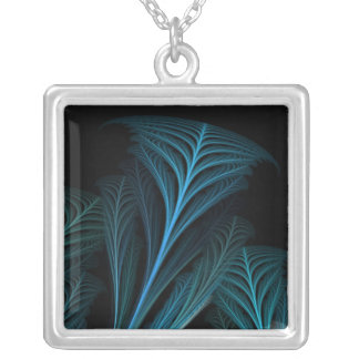 Fractal212 Silver Plated Necklace