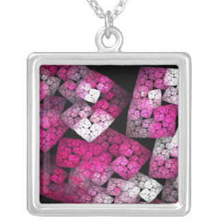 Fractal61 Silver Plated Necklace