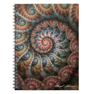 Fractal 04 Personalized Notebook