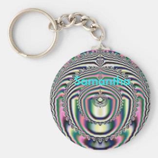 Fractal 10, Samantha, Key Chain