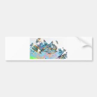 fractal-127- bumper sticker