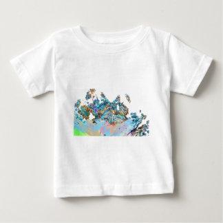 fractal-127- playera de bebé
