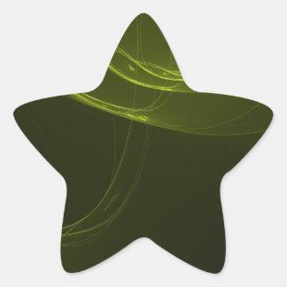 fractal-128-ut pegatina en forma de estrella