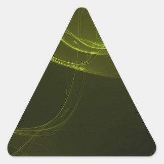 fractal-128-ut pegatina triangular