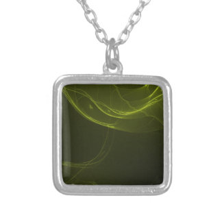 fractal-128-ut silver plated necklace