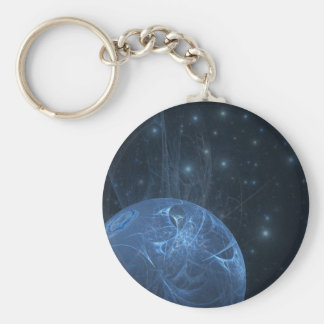 fractal-12-blue-creation keychain