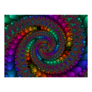 Fractal 144-2 posters