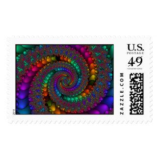 Fractal 144-2 postage