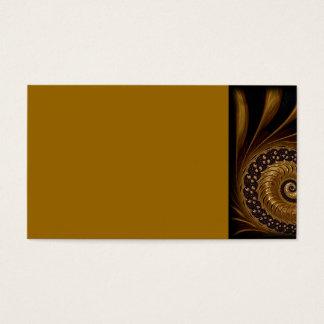 fractal-199054 fractal spiral endless mathematics business card