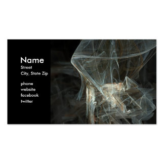 Fractal-1 Double-Sided Standard Business Cards (Pack Of 100)