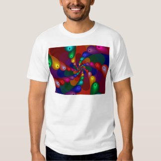 fractal-20599 COLORFUL fractal abstract background T-Shirt
