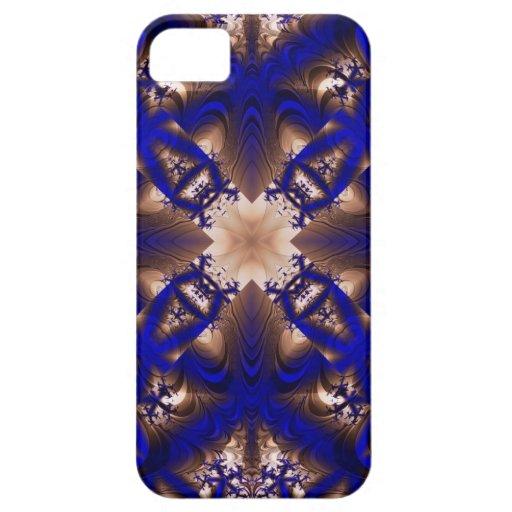 Fractal 256 del caleidoscopio iPhone 5 Case-Mate carcasa