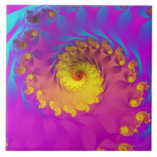Fractal 2 de Julia Azulejo Cuadrado Grande