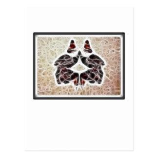 Fractal 2 de Rorschach Postal