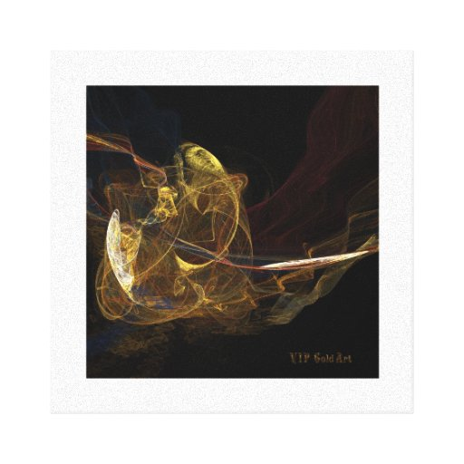 fractal 2 gallery wrapped canvas