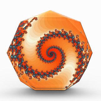 fractal-302552 VIBRANT ORANGE DIGITAL ART  fractal Award