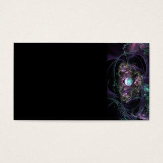 fractal-313795 FANTASY WORLDS ALIEN PLANET NEBULA Business Card