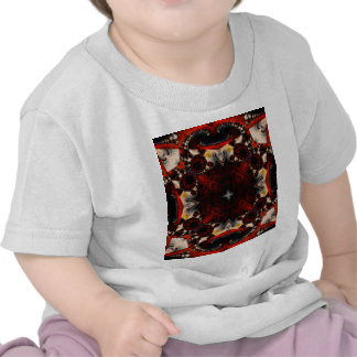 Fractal 357 del caleidoscopio camisetas