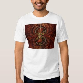 fractal-378225 fractal background abstract GEOMETR T-Shirt