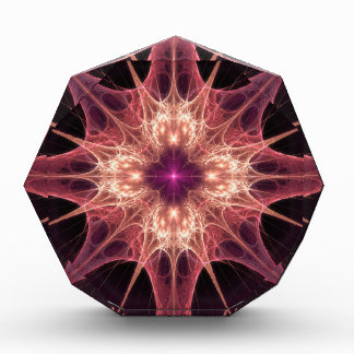 fractal-384965 PINK PURPLE ABSTRACT RANDOM FRACTAL Acrylic Award