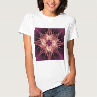 fractal-384965 PINK PURPLE ABSTRACT RANDOM FRACTAL T-Shirt