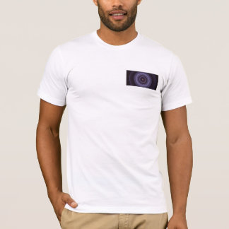 Fractal (3.14159 Bar) Front-Back Men's T-shirt