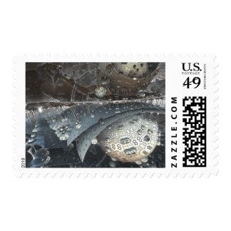 Fractal 3D Design Fantasy Sci-Fi Stamp