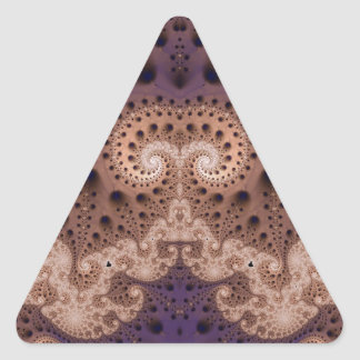 Fractal 401 triangle sticker