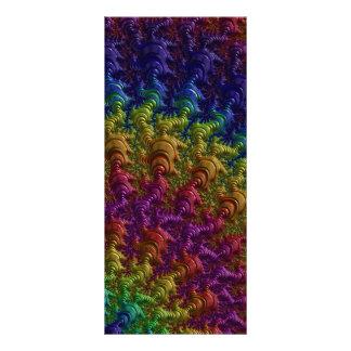 fractal-403463 COLORFUL DIGITAL ARTWORK fractal ar Rack Card