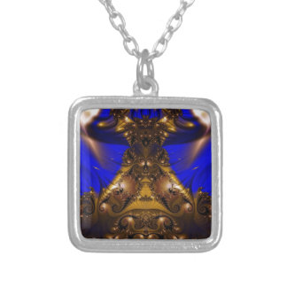 Fractal 434 personalized necklace