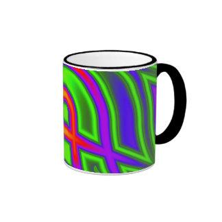 Fractal #4 ringer mug