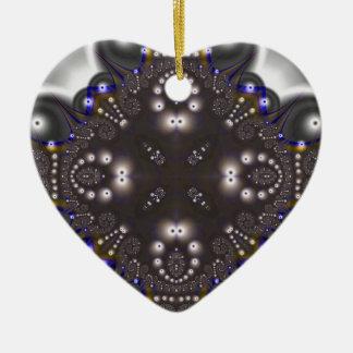 Fractal 500 ceramic ornament