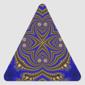 Fractal 510 triangle sticker