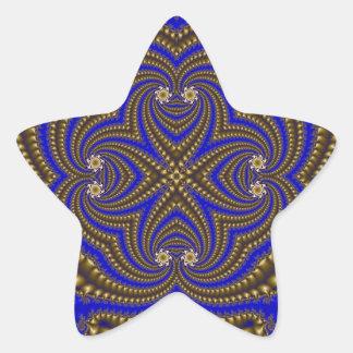 Fractal 510 star sticker