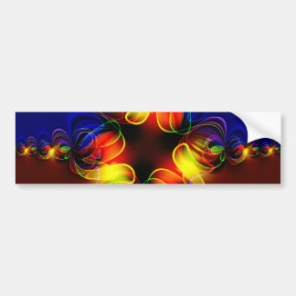 fractal-520451 fractal symmetry pattern abstract c bumper stickers