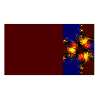 fractal-520451 fractal symmetry pattern abstract c business cards