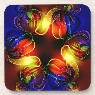 fractal-520451 fractal symmetry pattern abstract c drink coaster