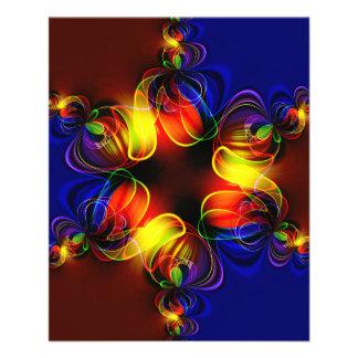 fractal-520451 fractal symmetry pattern abstract c full color flyer