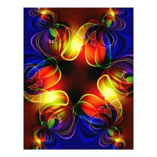 fractal-520451 fractal symmetry pattern abstract c letterhead design