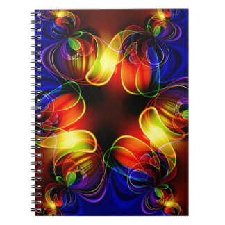 fractal-520451 fractal symmetry pattern abstract c spiral note books
