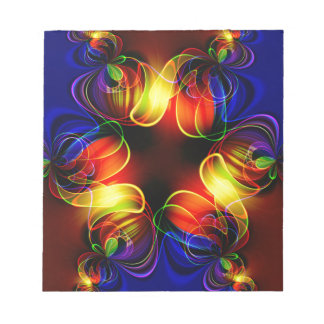 fractal-520451 fractal symmetry pattern abstract c note pads