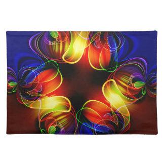 fractal-520451 fractal symmetry pattern abstract c cloth place mat