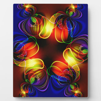 fractal-520451 fractal symmetry pattern abstract c photo plaques