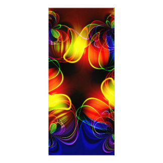 fractal-520451 fractal symmetry pattern abstract c personalized rack card