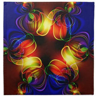 fractal-520451 fractal symmetry pattern abstract c cloth napkin