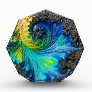 fractal-542158 Colorful digital fractal art backgr Award