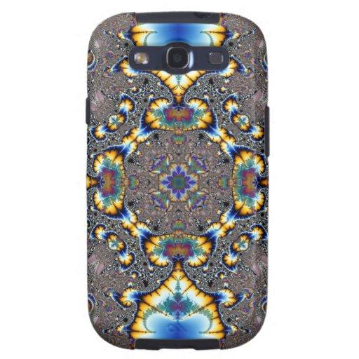 Fractal 590 del caleidoscopio samsung galaxy s3 carcasas