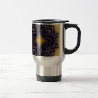 Fractal 611 15 oz stainless steel travel mug