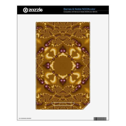 Fractal 636 NOOK color calcomanía